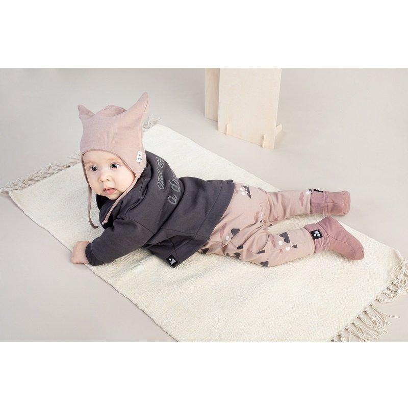 Buciki niemowlęce PINOKIO Dreamer - Ciemny beż
