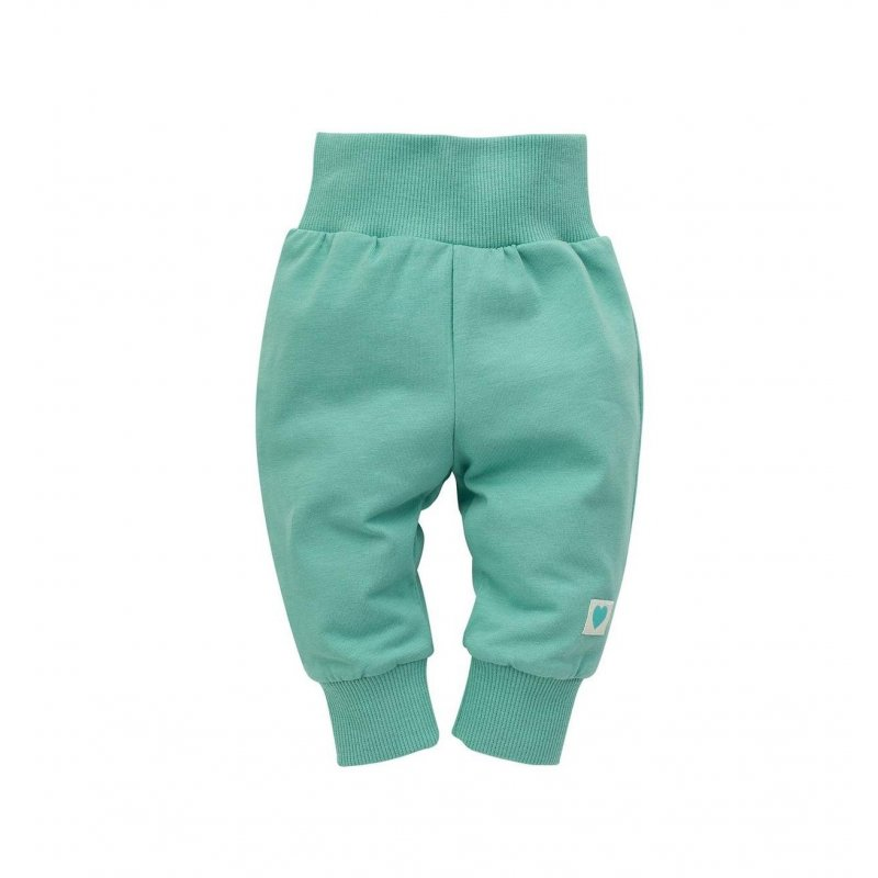 Legginsy niemowlęce Pinokio -Spring Light zielone