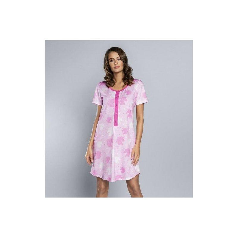 Rozpinana koszula do karmienia Italian Fashion ROXI Róż