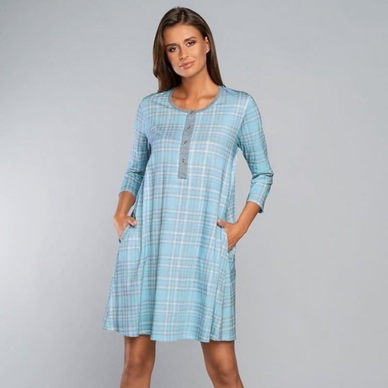 Koszula do Karmienia Italian Fashion -  DALAJA niebieska
